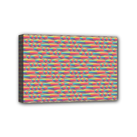 Background Abstract Colorful Mini Canvas 6  X 4