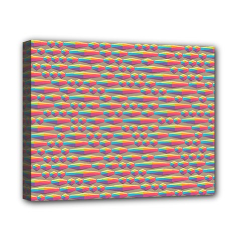 Background Abstract Colorful Canvas 10  X 8