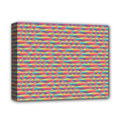 Background Abstract Colorful Deluxe Canvas 14  X 11