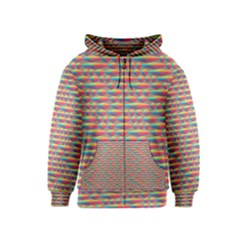 Background Abstract Colorful Kids  Zipper Hoodie
