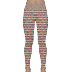 Background Abstract Colorful Classic Yoga Leggings