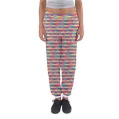 Background Abstract Colorful Women s Jogger Sweatpants