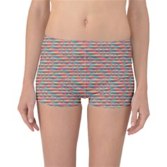 Background Abstract Colorful Reversible Bikini Bottoms
