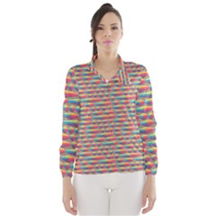 Background Abstract Colorful Wind Breaker (Women)