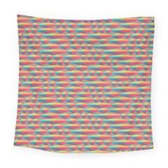 Background Abstract Colorful Square Tapestry (large)