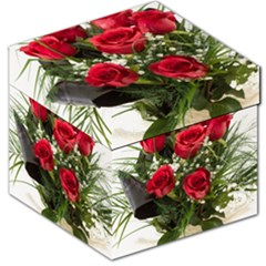 Red Roses Roses Red Flower Love Storage Stool 12