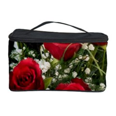 Red Roses Roses Red Flower Love Cosmetic Storage Case