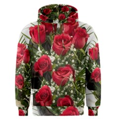 Red Roses Roses Red Flower Love Men s Pullover Hoodie