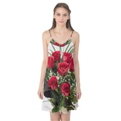 Red Roses Roses Red Flower Love Camis Nightgown