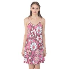 Flower Floral Red Blush Pink Camis Nightgown