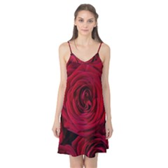 Roses Flowers Red Forest Bloom Camis Nightgown