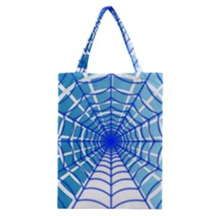 Cobweb Network Points Lines Classic Tote Bag