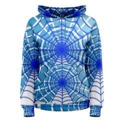 Cobweb Network Points Lines Women s Pullover Hoodie