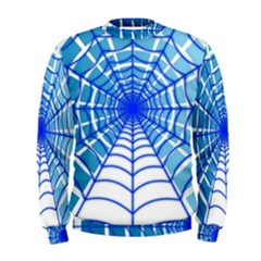 Cobweb Network Points Lines Men s Sweatshirt