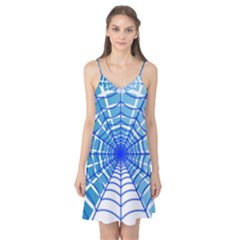 Cobweb Network Points Lines Camis Nightgown