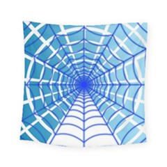 Cobweb Network Points Lines Square Tapestry (small)