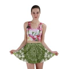 Mandala Center Strength Motivation Mini Skirt