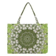 Mandala Center Strength Motivation Medium Tote Bag