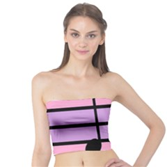 Music Gender Pride Note Flag Blue Pink Purple Tube Top