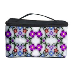 Floral Ornament Baby Girl Design Cosmetic Storage Case
