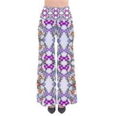 Floral Ornament Baby Girl Design Pants
