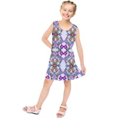 Floral Ornament Baby Girl Design Kids  Tunic Dress