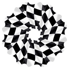 Flag Chess Corse Race Auto Road Folding Umbrellas