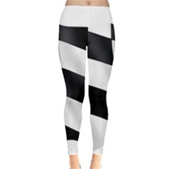 Flag Chess Corse Race Auto Road Leggings
