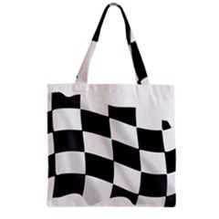 Flag Chess Corse Race Auto Road Grocery Tote Bag
