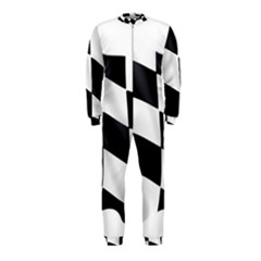 Flag Chess Corse Race Auto Road OnePiece Jumpsuit (Kids)