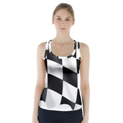 Flag Chess Corse Race Auto Road Racer Back Sports Top