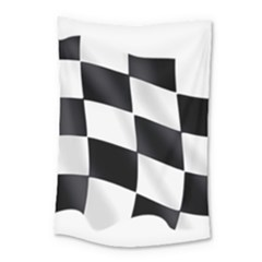 Flag Chess Corse Race Auto Road Small Tapestry