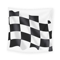 Flag Chess Corse Race Auto Road Square Tapestry (small)