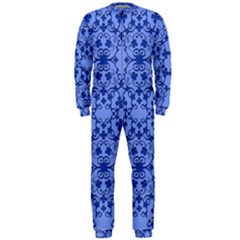 Floral Ornament Baby Boy Design Onepiece Jumpsuit (men)