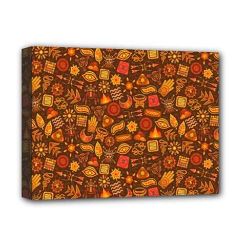 Pattern Background Ethnic Tribal Deluxe Canvas 16  X 12