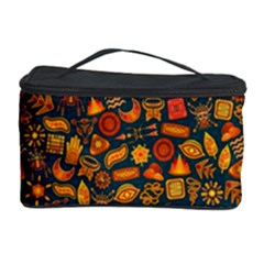 Pattern Background Ethnic Tribal Cosmetic Storage Case