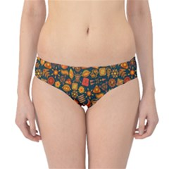 Pattern Background Ethnic Tribal Hipster Bikini Bottoms