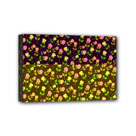 Flowers Roses Floral Flowery Mini Canvas 6  X 4