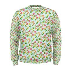 Flowers Roses Floral Flowery Men s Sweatshirt