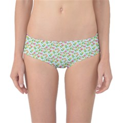 Flowers Roses Floral Flowery Classic Bikini Bottoms