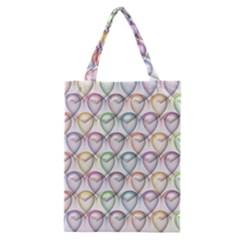 Valentine Hearts 3d Valentine S Day Classic Tote Bag