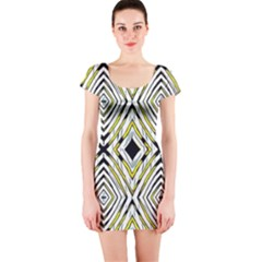 Venus Short Sleeve Bodycon Dress