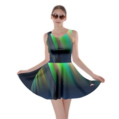 Planets In Space Stars Skater Dress