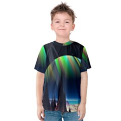 Planets In Space Stars Kids  Cotton Tee