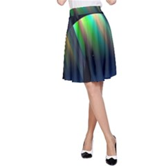 Planets In Space Stars A Line Skirt