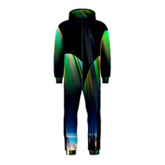 Planets In Space Stars Hooded Jumpsuit (kids)