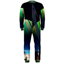 Planets In Space Stars Onepiece Jumpsuit (men)