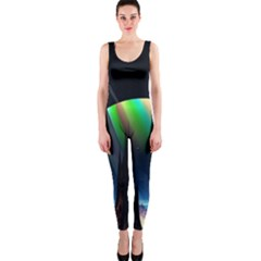 Planets In Space Stars Onepiece Catsuit