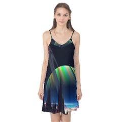 Planets In Space Stars Camis Nightgown