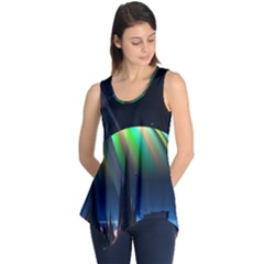 Planets In Space Stars Sleeveless Tunic